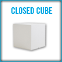 Closed Cube Table
