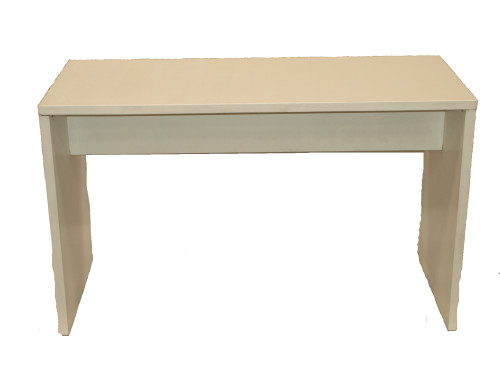 1.8m White Wooden High Table