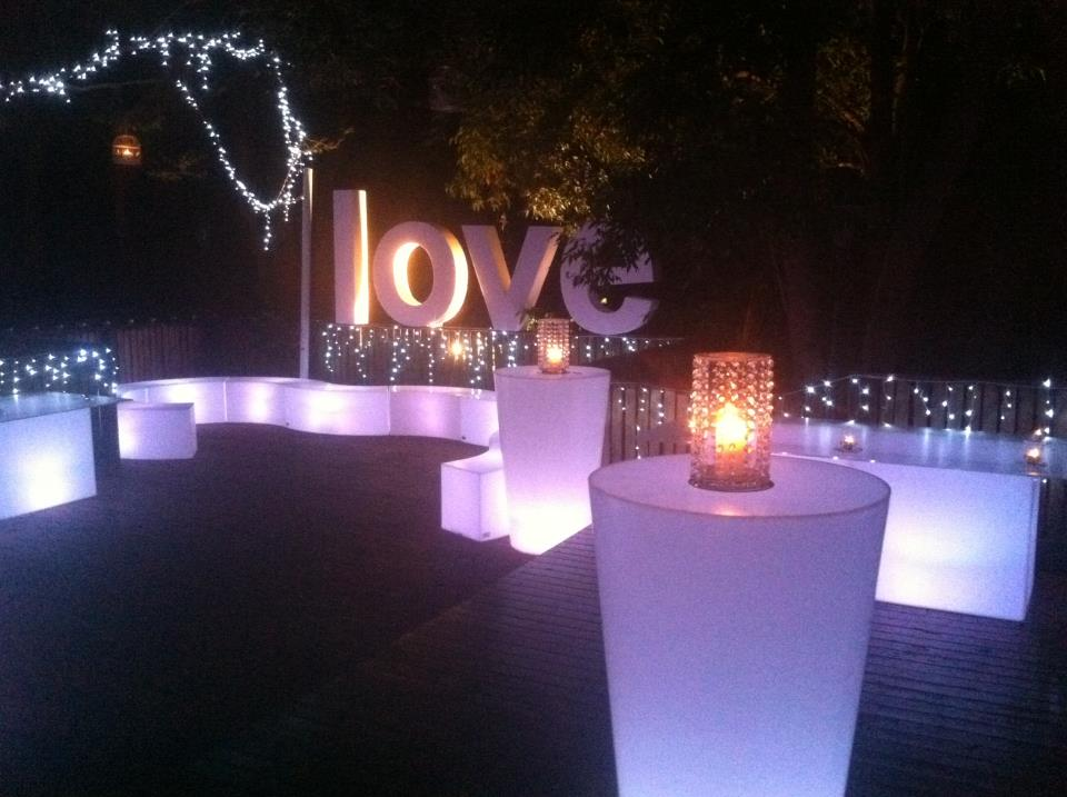 Engagment Party Glow Furniture