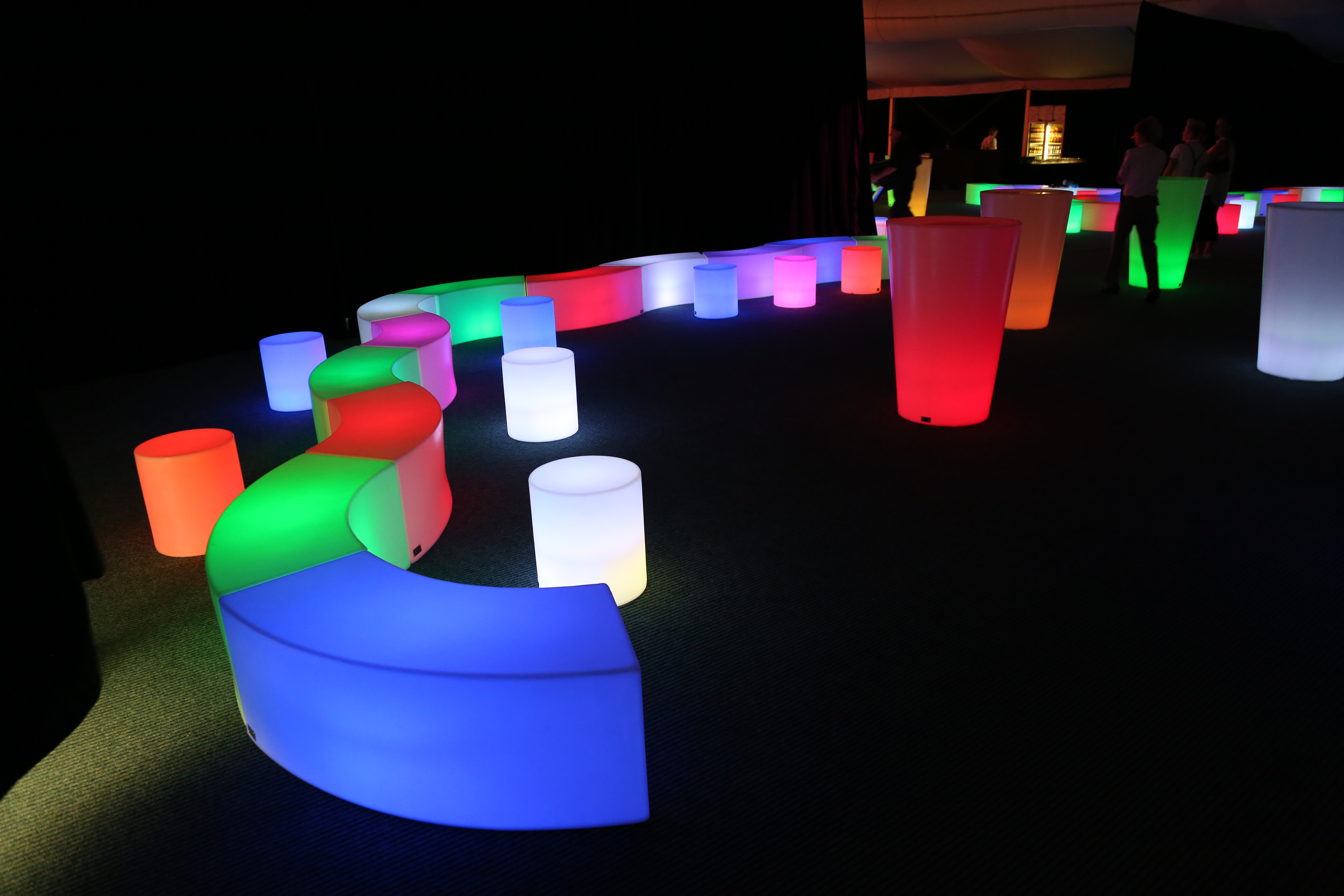 Glow Seating Options